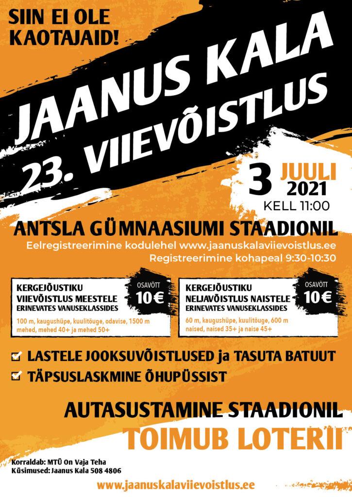Jaanus Kala viievõistlus 2021